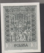 O) 1965 POLAND, SHRINE- RELIGION-KRAKOWA, SOUVENIR MNH - 1944-.... Republic