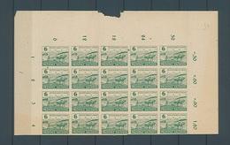 SBZ MiNr 85 Bis 86 Bogenteile Postfrisch (s Beschreibung) (13037)