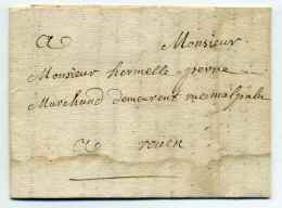 Lettre De CAEN  / Dept 13 Du CALVADOS / 28 Juin 1762 - 1701-1800: Precursores XVIII