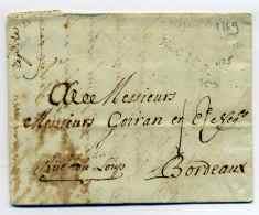 MP NOGENT LE ROTROU   Lenain N°5  / Dept 27 EURE ET LOIR  / 29 Janvier 1769 - 1701-1800: Precursores XVIII