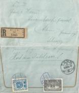 R Brief  Wien 64 - Thun          1921 - 1918-1945 1. Republik