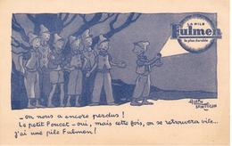 Buvard - Illustrateur Alain SAINT OGAN Publicité PILE FULMEN - Le Petit Poucet - FULMEN - Electricité & Gaz