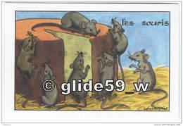 SOURIS - Image Scolaire Editions Educatives Paris - Série A (Calvet-Rogniat Illustrateur) - Animaux