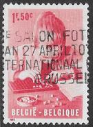 Belgium SG1826 1962 Disabled Children Relief Funds 1f+50c Good/fine Used [33/28672/6D] - Belgium