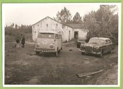 Portugal - REAL PHOTO - Old Cars - Vintage Car - Voitures - Citroen - Mercedes - France - Deutschland - Taxi & Carrozzelle