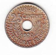 TUNISIE KM 244; 25 Ct, 1920.  (3SP1) - Tunisie