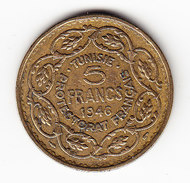 TUNISIE KM 273, 1946, 5 Fr.  (3SP4) - Tunisie
