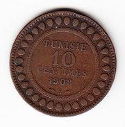 TUNISIE  KM  236, 10Ct, 1908.    (TUN 1050) - Tunisie