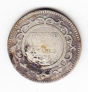 TUNISIE  KM  224, 2Fr, SILVER, 1891.    (TUN 1038) - Tunisie