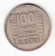 ALGERIA KM 93, 1952, 100 Francs. (FP07) - Algérie