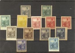 Argentina / Stamp Proofs Trials. - Argentinien