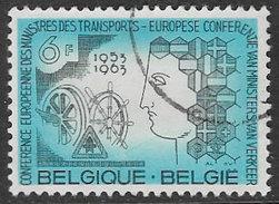 Belgium SG1855 1963 European Transport Ministers' Conference, Brussels 6f Good/fine Used [33/28686/6D] - Belgium