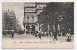 75 PARIS - 1er, Théâtre Français Et Rue De Richelieu (voir Descriptif) - Arrondissement: 01