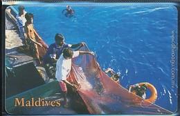 MALDIVEN Telefonkarte Gebraucht - Siehe Scan - Maldives