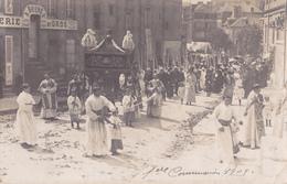 C.PHOTO 1909  1ére COMMUNION - Avranches