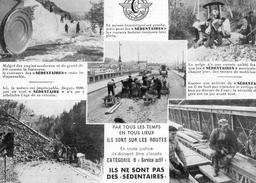 Politique - Carte Petition Des Agents Des Ponts Et Chaussées ( Les Sédentaires) - Adressée Au Député Baylet - Eventi