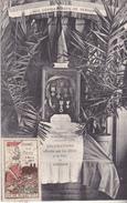 S-  GUERRE 14 17  COMMEMORATION JOURNEE DE LA MEUSE 1917 DECORATIONS OFFERTES  CACHET DE LA JOURNEE DE LA MEUSE AU VERSO - Clermont En Argonne