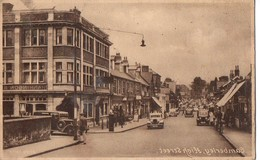Camberley, High Street  - T. N. T. To-day, Not To-morrow!  - The Minister Of Production - Surrey