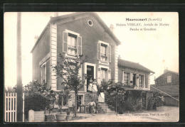 CPA Maurecourt, Maison Verlay, Article De Marine, Perche Et Goudron - Maurecourt