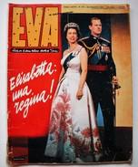 EVA  - ITALIAN MAGAZINE - H.M. QUEEN ELIZABETH VISITS ITALY - ORIGINAL MAY 1961 - - Books, Magazines, Comics