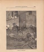 1888 - Gravure Sur Bois - Neuilly-sur-Marne (Seine-Saint-Denis) - Combats De Ville-Évrard - Guerre De 1870 - FRANCO - Estampes & Gravures