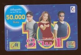 M Phone Prepaidkarte - Frau - Gebraucht - Siehe Scan - Laos