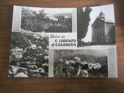 CARTOLINA SALUTI DA S. LORENZO DI CASANOVA - Genova