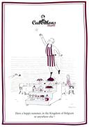 Publicité Cuberdons Léopold - Confiserie , Gourmandise - Illustrateur Valentine - Advertising