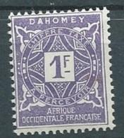 Dahomey - Taxe - Yvert N°16 **    - Aab 12407 - Dahomey (1899-1944)