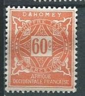 Dahomey - Taxe - Yvert N°15 **    - Aab 12415 - Dahomey (1899-1944)