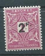 Dahomey - Taxe - Yvert N° 17 **  -  Aab124 34 - Dahomey (1899-1944)