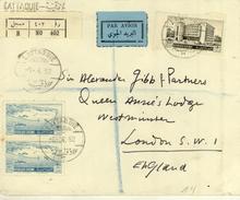 Syria / Airmail / G.B. - Syria