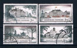 Dänemark 1994 Schlösser Mi.Nr. 1073/76 Kpl. Satz Gest. - Gebraucht