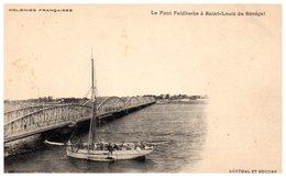 AFRIQUE - SENEGAL -- Le Pont Faidherbe à St Louis