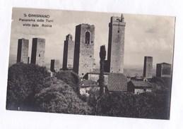 CPA Italie  Siena S.Gimignano Panorama Delle Torri Visto Della Rocca  TBE