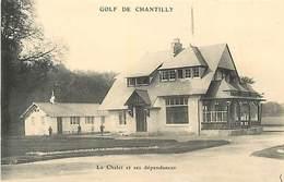 PIE-17-T.910 : GOLF DE CHANTILLY OISE. LE CHALET