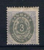 Dänemark 1871 Ziffern Mi.Nr. 17 * Ungebraucht - 1864-04 (Christian IX)