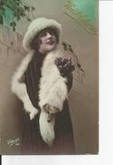 SAINTE CATHERINE   BONNET   Echarpe Vison     ELIANE 154 - Sainte-Catherine