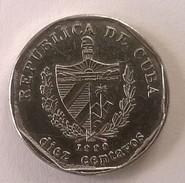 Cuba - 10 Centavos 1999 - TTB - - Cuba