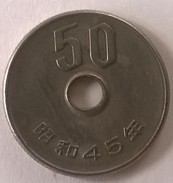 Monnaie - Japon -  50 Yen -  (45)  - - Japon