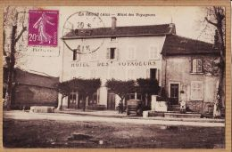 Mtp765 Peu Commun Editeur GAUTHIER LA CLUSE Ain Hôtel Des VOYAGEURS Automobile 1930s à LARCHER Sèvres - Francia