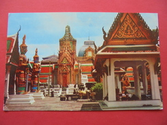 51629: THAILAND: Bangkok: Scenery Of Wat Pra Keo (Temple Of The Emerald Buddha) In The Grand Palace. - Thailand