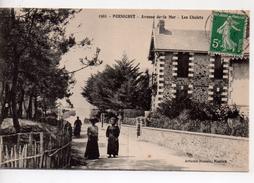 CPA.44.1916.Pornichet.Avenue De La Mer.Les Chalets.animé Femmes - Pornichet