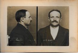 Photo D'identité Judiciaire , Rimbault De La Bande à Bonnot - Photographie