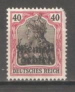 Memel 1920, 40pf, Sc 8, Mint No Gum - Memel (1920-1924)