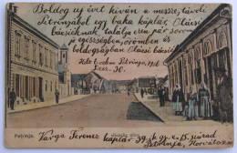 Croatia / Hrvatska: Petrinja,  Banska Ulica  1906 - Kroatië