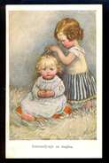 Iznenadjenje Za Majku (surprise For Mother) / M.M. Nr. 712 / Postcard Circulated, 2 Scans - Künstlerkarten