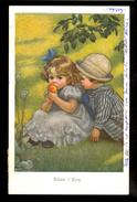 Adam I Eva / M.M. Nr. 712 / Postcard Circulated, 2 Scans - Künstlerkarten