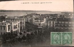 TUNISIE BIZERTE VUE GENERALE QUARTIER DE LA GARE - Túnez