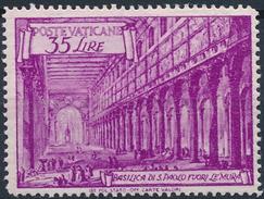 Vaticano 1949. Basilica San Pablo. Extramuros. Mi 156. MNH. **. - Vaticano (Ciudad Del)